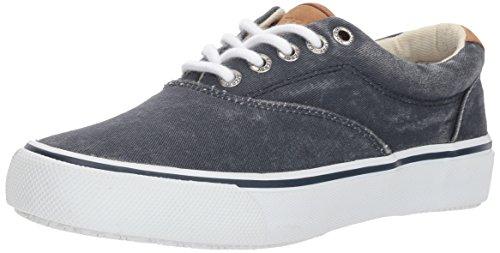 Sperry Mens Striper LL CVO Sneaker, Navy, 13 Wide