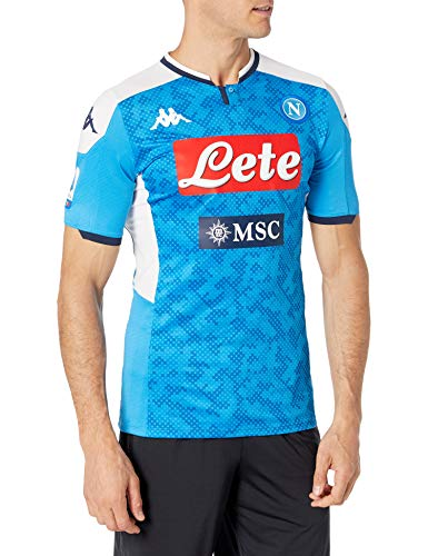 SSC Napoli Trikot Gara Home 2019/2020 von Lorenzo Unisex - Adult, blau, M