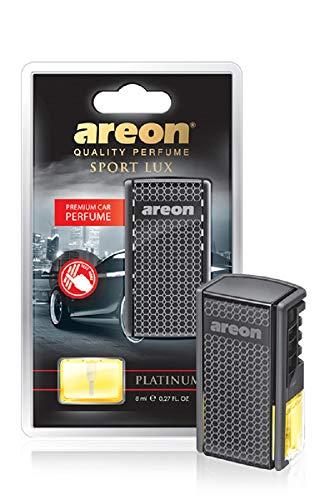 AREON AC03 Car Freshener Vent Clip Luxury and Elegant 0.27 oz Car Perfume, Platinum Scent