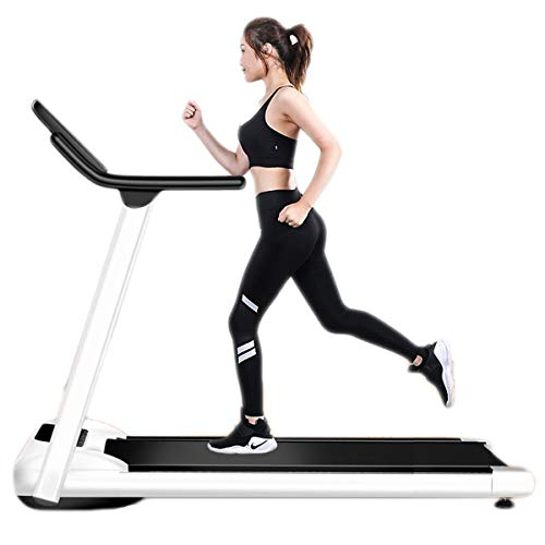 Fantastic Deal! NFJMWM Folding Treadmill Motorised Running Jogging Walking Portable Gym Equipment Sm...