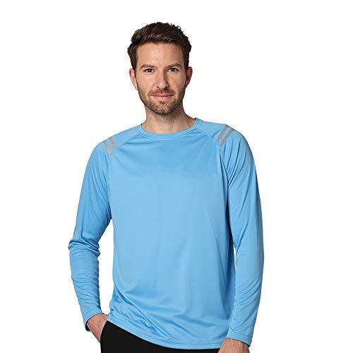 Ogeenier Protección Solar UV para Hombre UPF50 + Camiseta de Manga Larga