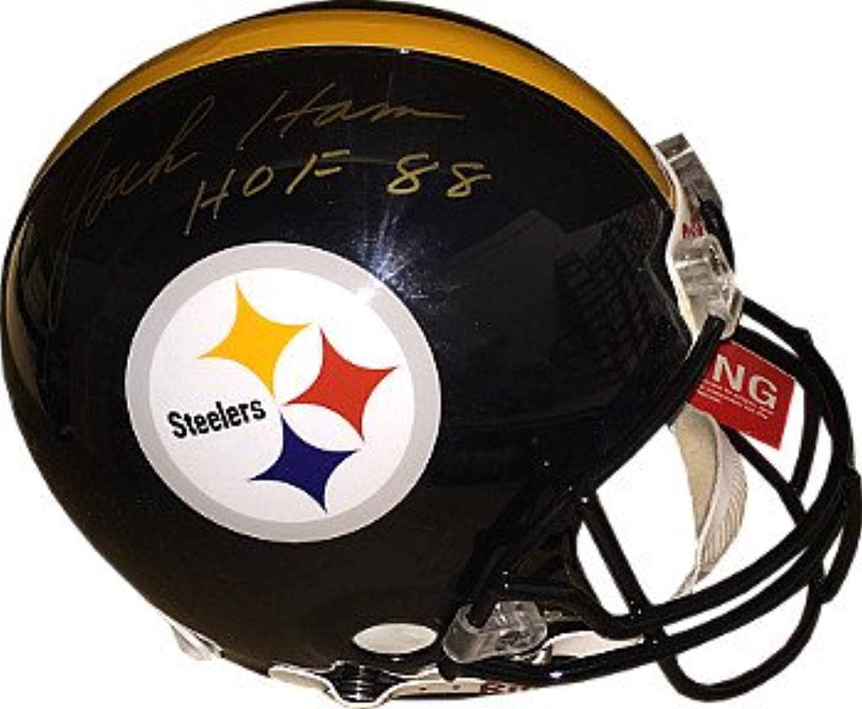 Jack Ham signed Pittsburgh Steelers Full Size Proline Helmet HOF 88 BASBeckett Hologram