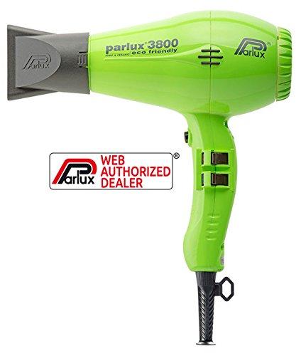 Parlux 3800 Ionic & Ceramic – Color verde