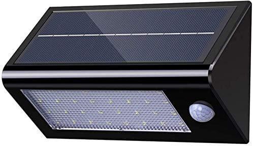 Lampade Solari da Giardino, 32 LED Wireless ad Energia Solare da Esterno Impermeabile con Sensore di Movimento Luce Solare Led per Parete/Giardino/Cortile/Scale/Muro
