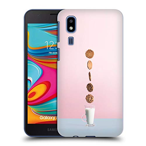 Head Case Designs Officially Licensed by Pepino De Mar Biscuit and Milk Sweets Hard Back Case Compatible with Samsung Galaxy A2 Core (2019) -  HC-A20CORE-PEPISWE-BMI