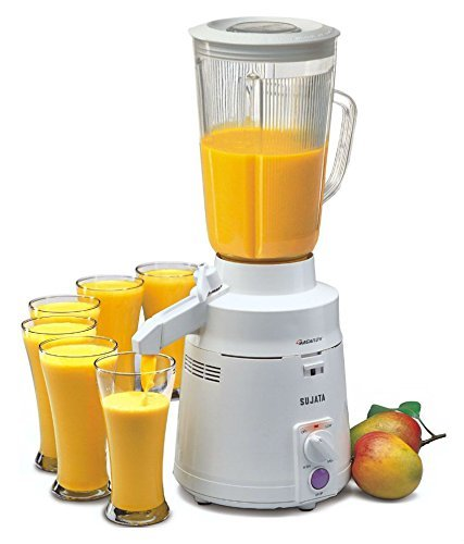 Sujata MegaMix MM 900-Watt Mixer Grinder (White)