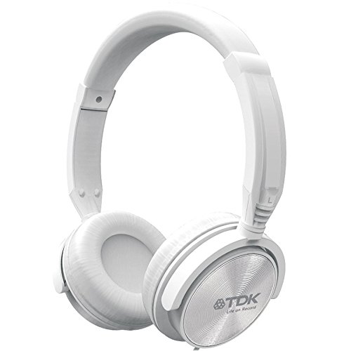 TDK ST-170 - Auriculares de diadema cerrados, blanco