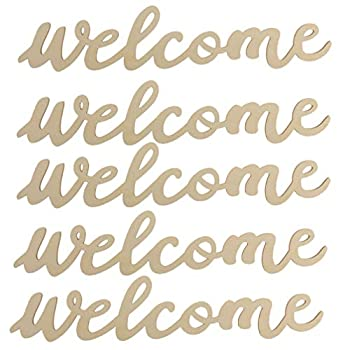 Best wood welcome sign Reviews