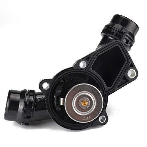 EUYBDZSW Ensamblaje de la Carcasa del termostato del refrigerante del Motor del Motor 11531437040, Adecuado for BMW 3 5 Series X3 X5 Z3 Z4