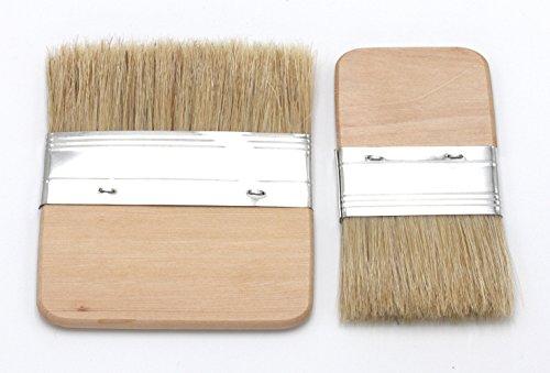 Paintersisters-Neuss Paddle Flächenpinsel, Grundierpinsel, Flachpinsel (Set 60 + 100 mm)