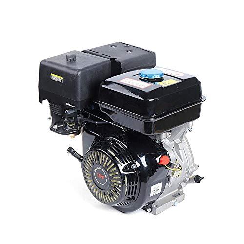15PS 420CC 4-Takt Motor Benzinmotor Kartenmotor Standmotor Einzylinder Industriemotor 9kW Viertakterssatzmotoren gokart mit motor mit Ölalarm.