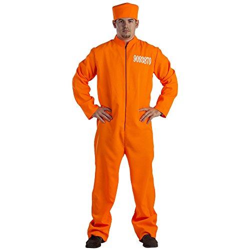 Dress Up America Costume de prisonnier adulte