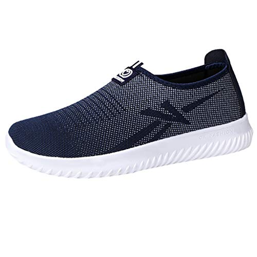 Chaussures Paresseux Homme Chaussures Plates,Overmal Mode Baskets Basses,Casual Slip-on Loafers Chaussure de Sport Light Comfortable Soft Shoes Sneakers