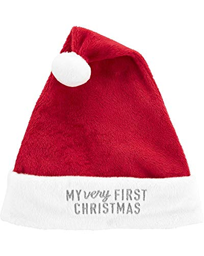 Carter's Baby My First Christmas Santa Hat,Red,3-9 Months