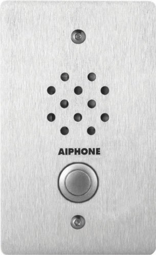 Aiphone LE-SS-1G Vandal-and Weather-Resistant Single-Gang Door Station for Use with AX, LAF/LDF-C, LEM, LEF, MP-S Series Intercom Systems by Aiphone