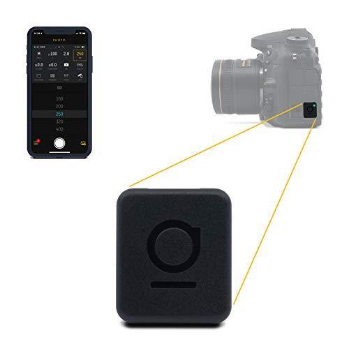 UNLEASHED – Bluetooth Fernsteuerung für Nikon (Komplette Steuerung via App, Fernauslöser, Timelapse, Langzeitbelichtung, Geotagging, Video) Modell N2 für Nikon D7000, D90, D3100*, D610, D600