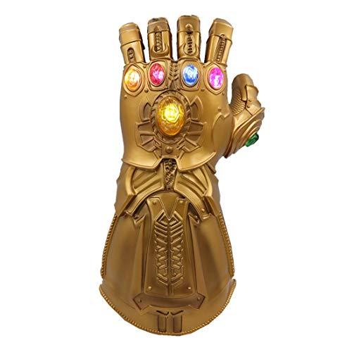 Gant de golf Thanos pour enfants avec 6 LED lumineuses en PVC bonne forme pour cosplay