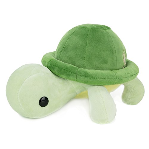 Bellzi Green Turtle Cute Stuffed Animal Plush Toy - Adorable Soft Turtle Toy Plushies and Gifts - Perfect Present for Kids, Babies, Toddlers - Torti