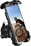 Amazon Brand – Eono Soporte Teléfono para Bicicleta Ajustable, Soporte Motocicleta Rotación 360° Universal Manillar para iPhone 12 Mini Pro Max 11 X Xs XR 8, 4.7-6.8