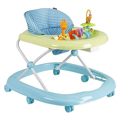 Landau Produits pour Bébé Walker Anti-O-Leg Baby Anti-Renversement Push Peut s'asseoir Multi-Fonction (Color : B)