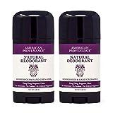 American Provenance - Natural Deodorant for Women and Men, Aluminum-Free Deodorant, 2-Pack Horseshoes & Hand Grenades (Ylang Ylang, Bergamot & Clove Blend)