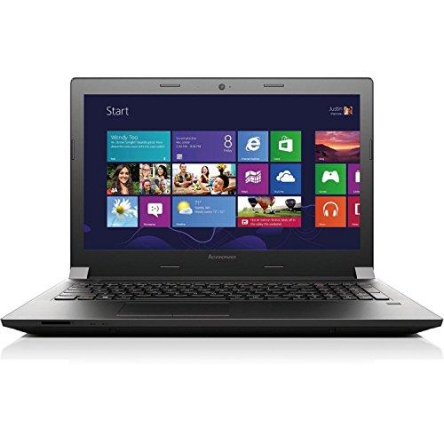 Lenovo B50-45 59442503 15.6-Inch Notebook (AMD E1-6010 1.35GHz Processor, 4GB DDR3L RAM, 320GB HDD, Windows 8.1 Pro 64-bit OS) Black (Discontinued By Manufacturer)