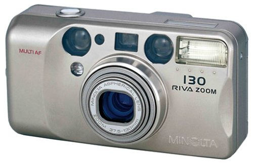 Minolta Riva Zoom 130 Kleinbildkamera