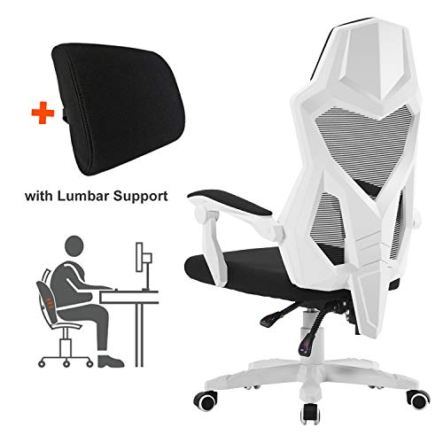 HOMEFUN Ergonomic Office Chair, High Back Adjustable Mesh Recliner Chair, Desk Task Chair with...