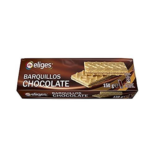Ifa Eliges Barquillos Galletas Chocolate - 150 gr.
