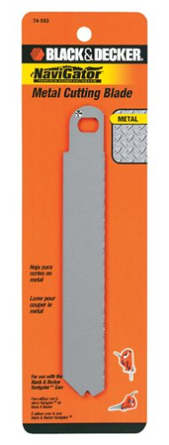 Black & Decker 74-593 Metal Cutting Blade for SC500 Navigator