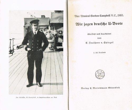 Wir jagen deutsche U-Boote.