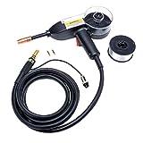 Eastwood Mig Spool Gun Metal Connector Push Pull Feeder Aluminum Welding Torch Gun 1 Lb Spool of .035 Wire