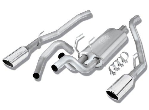 Borla 140307 Stainless Steel Cat-Back Exhaust System - RAM 1500 '09 5.7L V8 RWD 4DR CC SB