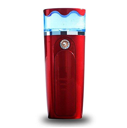 Cool Mist Luftbefeuchter Portable Water Supplement Instrument Spray Beauty Instrument Nano Feuchtigkeitsspendende Gesichtsbehandlung für Home Yoga Office Spa Schlafzimmer , 1