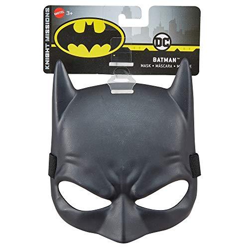 Justice League - DC Batman máscara, accesorios de superhéroes (Mattel FVY28)