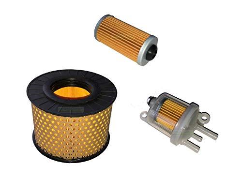 3 X Luftfilter Kraftstofffilter für Hatz 1B20 1B27 1B30 1B20V 1B30V Ammann Bomag