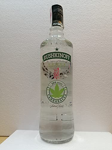 Vodka Cannabacea 1 Litro 50% Alcohol Rushkinoff