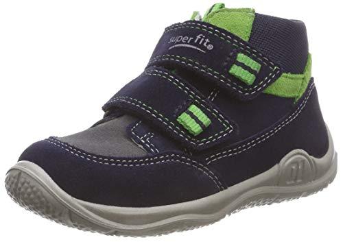 Superfit Baby Jungen Universe Sneaker, Blau (Blau/Grün 80), 20 EU