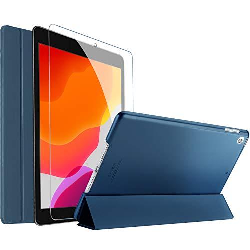 Procase Funda y Protector de Pantalla para iPad 10,2