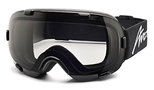 Skibrillen Arctica G-100FP Photochromatische Photochrome Polarisierende Selbsttönende Glass Anti-Nebel