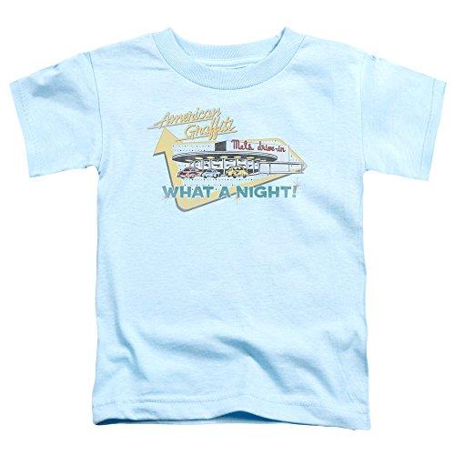 American Grafitti - - En voiture tout-petits Mel En T-shirt, 4T, Light Blue