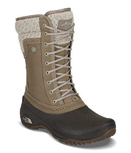 Price comparison product image The North Face Women's Shellista II Mid - Split Rock Brown & Dove Grey - 5.5