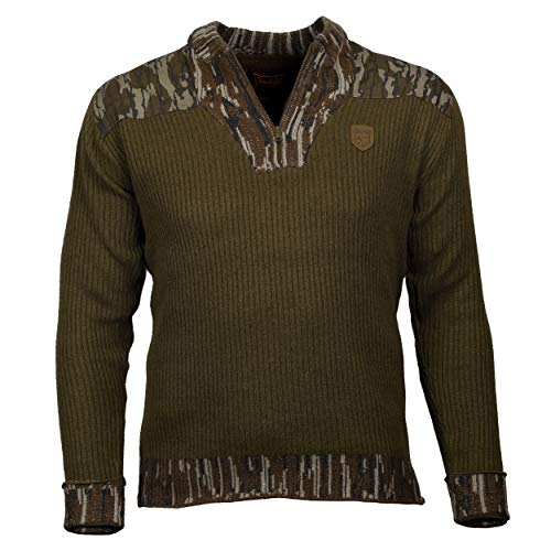 Wool Hunting Sweater Mens