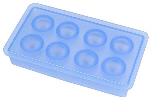 Lurch 10436 Eiswürfelbereiter Kugeln, ø 3,3 cm, eisblau
