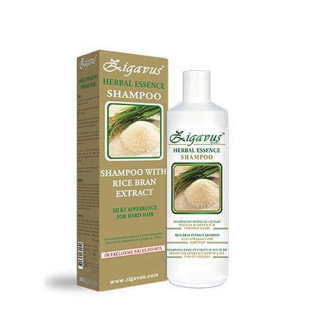 Zigavus Reiskleie Shampoo 450 ml