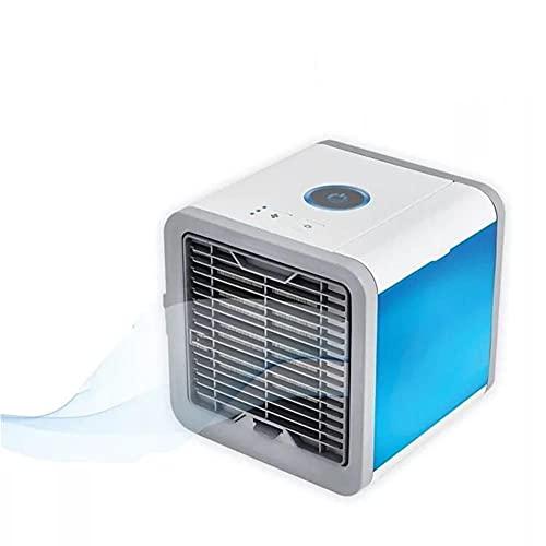 WXJWPZ Mini USB portátil Refrigeración Ajuste del acondicionador de Aire purificador del humectador del Aire Acondicionado del Coche refrigerador Ventilador de Luz