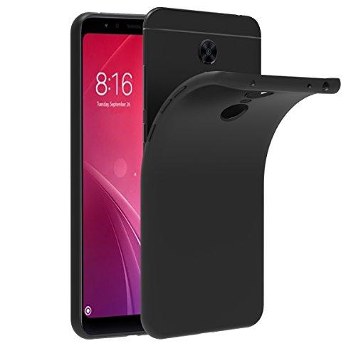 VGUARD Funda Xiaomi Redmi 5 Plus, Slim Fit Xiaomi Redmi 5 Plus Funda Carcasa Case Bumper con Absorción de Impactos y Anti-Arañazos Espalda Case Cover para Xiaomi Redmi 5 Plus - Negro