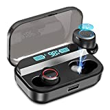 Wireless Earbuds,Kissral Bluetooth 5.0 Earbuds with 3000mAh Charging Case LED Battery Display 90H Playtime...
