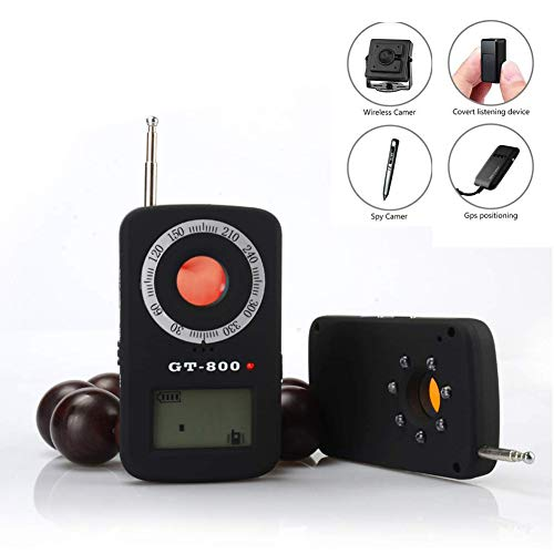 Buy Discount Anti Spy RF Detector, Wireless Bug Detector Signal for Hidden Camera Laser Lens GSM Dev...