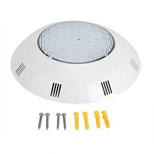Ladieshow 12W 12V LED de Montaje en Pared Impermeable Fuente de Acuario Estanque Piscina lámpara de luz de Paisaje subacuático